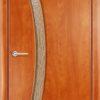 Ламинированная межкомнатная дверь Трио миланский орех 1
