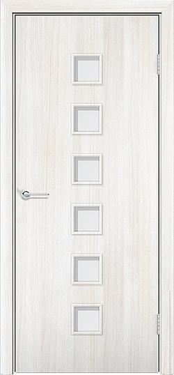 Ламинированная межкомнатная дверь Комфорт белёный дуб 3