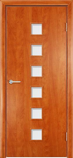 Ламинированная межкомнатная дверь Комфорт груша 3