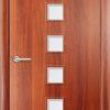 Ламинированная межкомнатная дверь Лиана итальянский орех 2