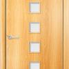 Ламинированная межкомнатная дверь Магия миланский орех 1