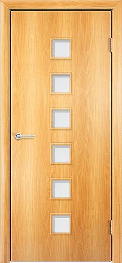 Ламинированная межкомнатная дверь Комфорт миланский орех 3