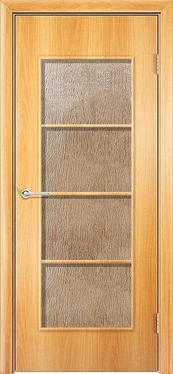 Ламинированная межкомнатная дверь Квадро миланский орех 3