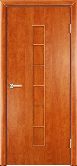 Ламинированная межкомнатная дверь Лесенка груша 3