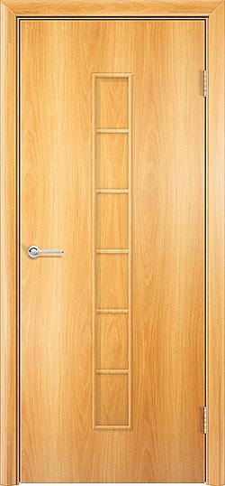 Ламинированная межкомнатная дверь Лесенка миланский орех 3