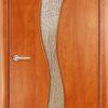Ламинированная межкомнатная дверь Камила миланский орех 1