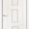 Ламинированная межкомнатная дверь Рим груша 1