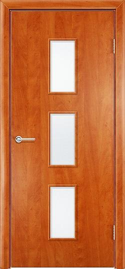 Ламинированная межкомнатная дверь Лоза груша 3