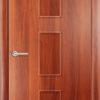 Ламинированная межкомнатная дверь Луна итальянский орех 2