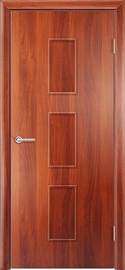 Ламинированная межкомнатная дверь Лоза итальянский орех 3