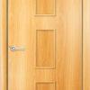 Ламинированная межкомнатная дверь Барокко белёный дуб 2