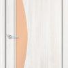Ламинированная межкомнатная дверь Бамбук итальянский орех 2
