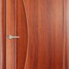 Ламинированная межкомнатная дверь Трио белёный дуб 2