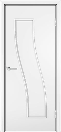 Ламинированная межкомнатная дверь Парус белый 3