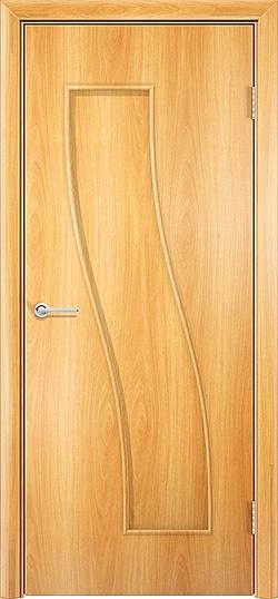 Ламинированная межкомнатная дверь Парус миланский орех 3