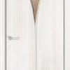 Ламинированная межкомнатная дверь Камила итальянский орех 1