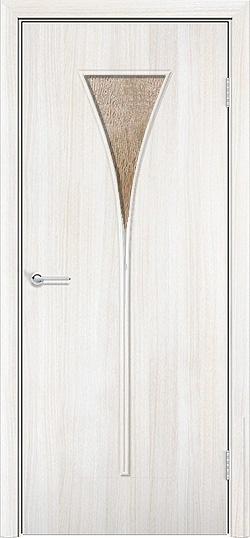 Ламинированная межкомнатная дверь Рюмка белёный дуб 3