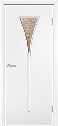 Ламинированная межкомнатная дверь Рюмка белый 3