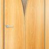Ламинировананя межкомнатная дверь Стандарт 2 итальянский орех 2