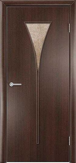 Ламинированная межкомнатная дверь Рюмка венге премиум 3