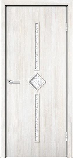Ламинированная межкомнатная дверь Соло белёный дуб 3