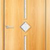 Ламинированная межкомнатная дверь Лоза груша 1