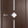 Ламинированная межкомнатная дверь Трио груша 2