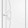 Ламинированная межкомнатная дверь Барокко белый 2