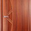 Ламинированная межкомнатная дверь Вьюга груша 2