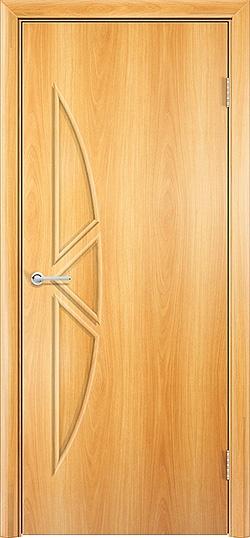 Ламинированная межкомнатная дверь Соната миланский орех 3