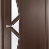 Ламинированная межкомнатная дверь Квадро миланский орех 2