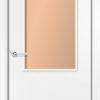 Ламинированная межкомнатная дверь Квадро миланский орех 1