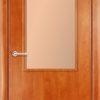 Ламинированная межкомнатная дверь Змейка венге премиум 1