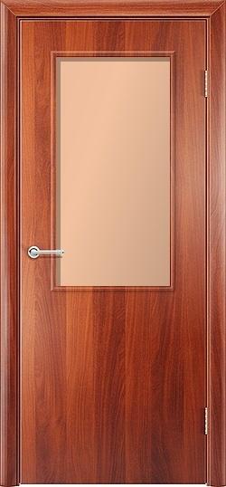 Ламинированная межкомнатная дверь Стандарт итальянский орех 2