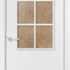 Ламинированная межкомнатная дверь Соната белёный дуб 1