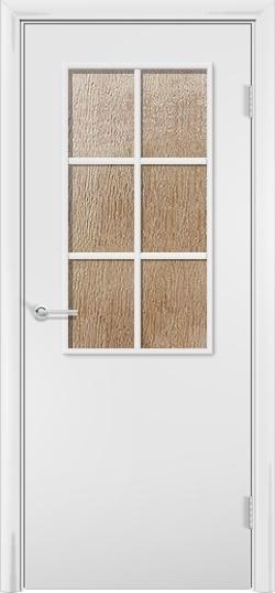 Ламинированная межкомнатная дверь Стандарт 2 белый 3