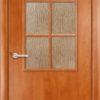 Ламинированная межкомнатная дверь Горизонт 1 белёный дуб 1