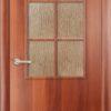 Ламинированная межкомнатная дверь Каприз итальянский орех 2