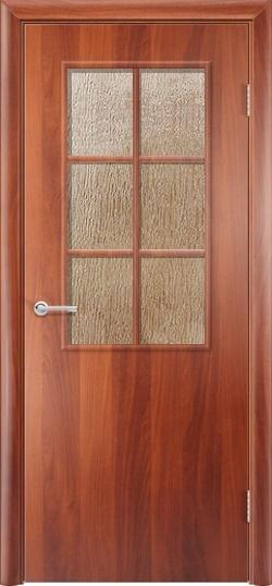 Ламинировананя межкомнатная дверь Стандарт 2 итальянский орех 3