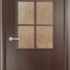 Ламинированная межкомнатная дверь Комфорт итальянский орех 2