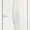 Ламинированная межкомнатная дверь Вьюга миланский орех 1