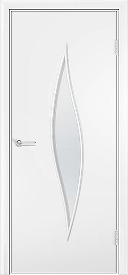 Ламинированная межкомнатная дверь Стеффани белый 3