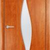 Ламинированная межкомнатная дверь Клевер груша 1
