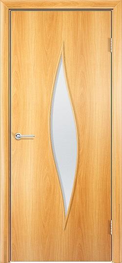 Ламинированная межкомнатная дверь Стеффани миланский орех 3