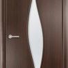 Ламинированная межкомнатная дверь Волна груша 2