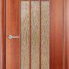 Ламинированная межкомнатная дверь Гламур белый 1