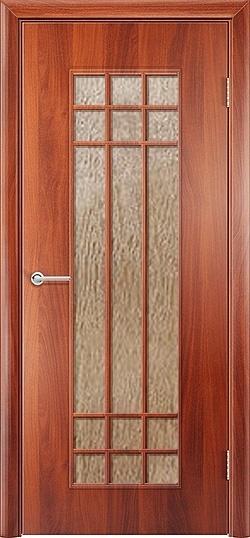 Ламинированная межкомнатная дверь Стелла итальянский орех 3