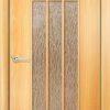 Ламинированная межкомнатная дверь Тюльпан белый 2