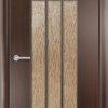 Ламинированная межкомнатная дверь Парус миланский орех 1