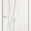 Ламинированная межкомнатная дверь Горизонт 1 миланский орех 2